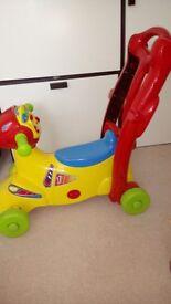 Vtech Sit to ride smart wheels