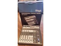 Stagg SMIX 4M2S UD UK Multi-channel stereo mixer w/ 2-4 mono, 2 stereo input channels + USB input