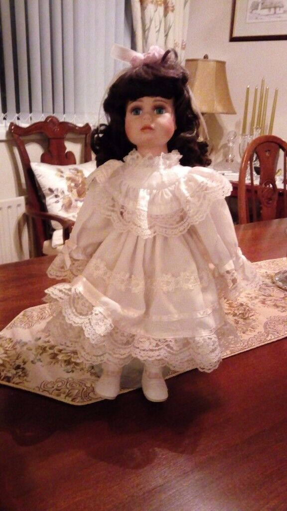Effanbee porcelain doll