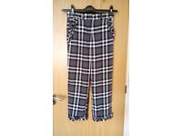 River Island Checked Trouser