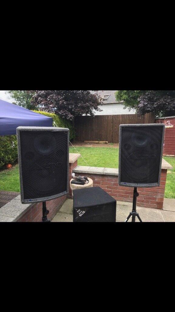 DJ equipment & lights