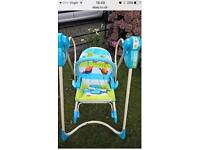 fisher price 3-1 baby chair and swing