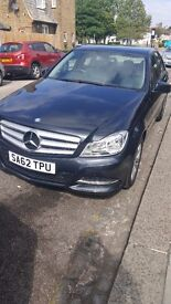 Mercedes-Benz C Class 2.1 C220 CDI BlueEFFICIENCY SE (Executive) 7G-Tronic Plus 4dr (Map Pilot)