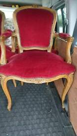 French carver chairs
