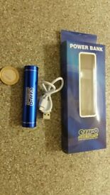 Euro Car Parts Power Bank 2000mAh Emergency Mobile Phone Charger & Torch Light Samsung Apple iPhone
