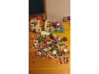 Lego Friends - Random selection of Lego friends including three characters