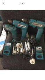 Makita drills spares or repairs