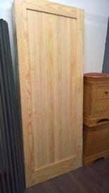 external pine door
