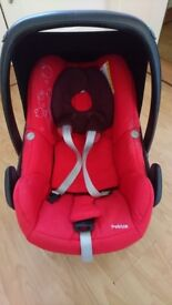 Maxi cosi pebble car seat 0+ £50ono