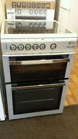 60cm silver electric cooker in good clean working condition guaranteed working