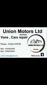 Union Motors Ltd - Garage , Car and Van repair and Service