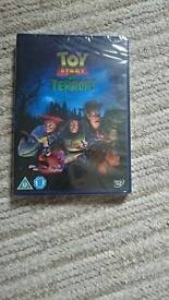 Brand new and sealed toy story of terror dvd