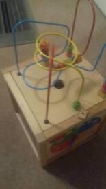 Baby/child activity cube