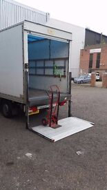 24/7 CHEAP REALIABLE MAN WITH LUTON VAN TAIL LIFT HOUSE OFFICE FLAT REMOVAL
