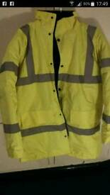 Two high visibility jackets
