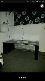 Coffee table, 3 tier tv stand, side table