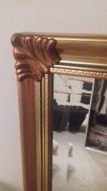 Mirror Gold Framed