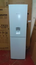 HOTPOINT with water dispenser fridge freezer ex display