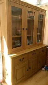 Solid wood Display unit