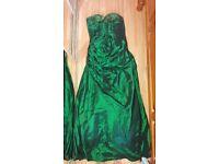 Green prom / bridesmaid dress