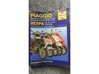Paiggio vespa haynes manual