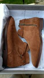 Men's H (London) by Hudson Cutler suede Chelsea boots