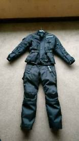 Children's large Buffalo motorbike trousers and jacket