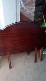 Stag minstrel headboard
