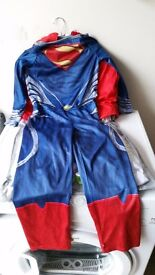 Superman dress up costume age 7-8 years