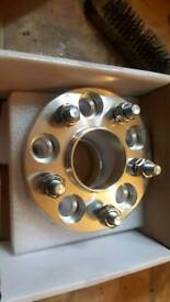 5x112 20mm hubcentre spacers 2pairs