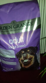 Arden Grange Adult Large Breed 12Kilo sack dry dog food - unopened.