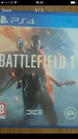 Battlefield 1 Ps4. £35 Ono Like new.