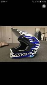 Motocros helmet