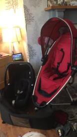 Quinny zap & maxi cosy car seat