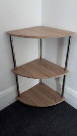 3 tier corner stand