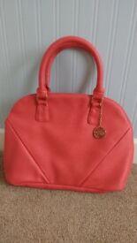 Coral Pink Handbag/Shoulderbag