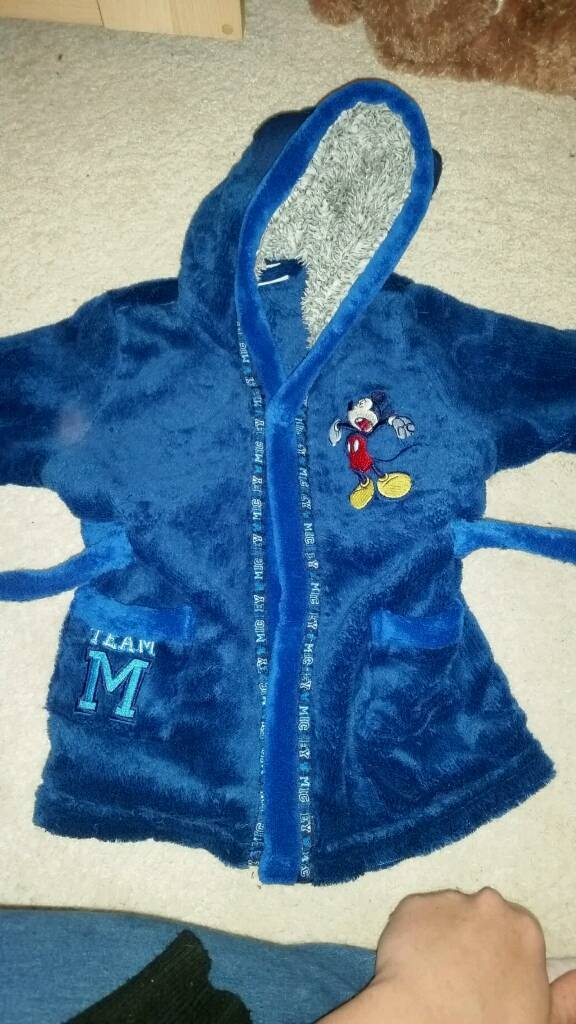 Disney boy dressing gown 6-9 months | in Mountain Ash, Rhondda Cynon ...