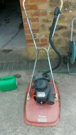 Flymo 38 two stroke hover mower