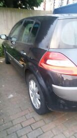 RENAULT MEGANE 5 DOOR 2006 car £1050,(negotiable) for sale immediately good condition