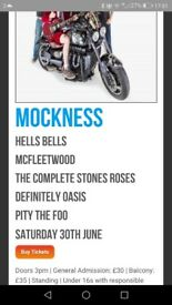 Mockfest tickets x2 for 30th June in Inverness, £40 for the two