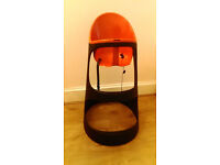 Ikea red and black highchair