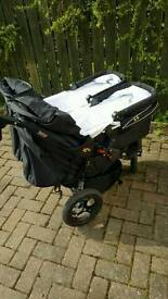 Out n About Nipper twin carrycots only including adaptor