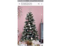 Marks and Spencer Crystal pine cone christmas tree (used once) in box