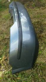 Rear bumper silver for Ford