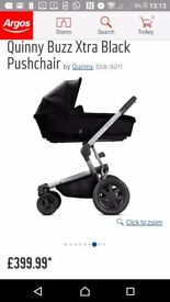 Quinny Buzz Xtra Black Pushchair