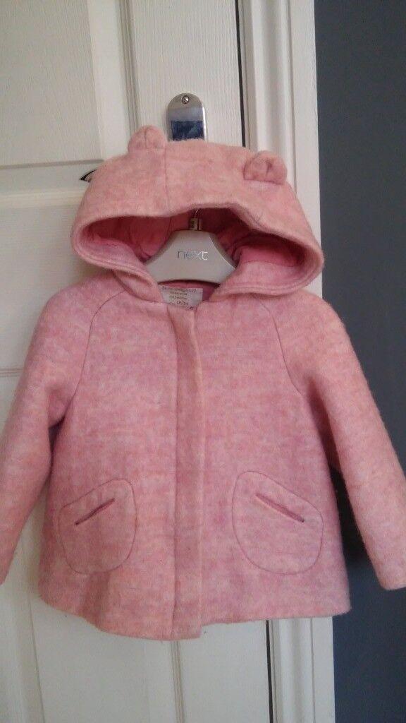 1bfa6e5079d4 Zara Babygirl pink coat (winter jacket) 18-24m