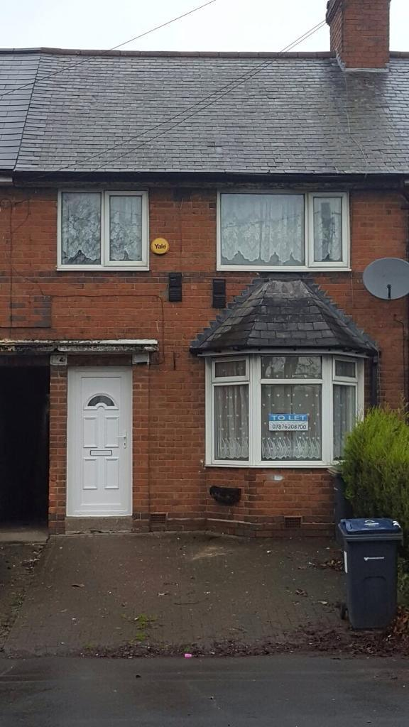 3 Bedroom House To Rent Tyburn Rd Erdington Birmingham B24 9rp