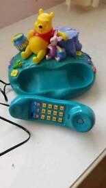 DISNEY WINNIE THE POOH CORDED HOME PHONE