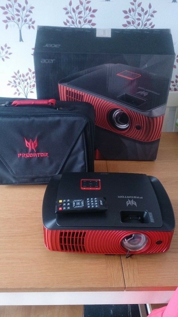 Acer Z650 Predator 1080p Short Throw Gaming Projector
