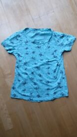 Turquoise T-Shirt from Red Herring - Size 10